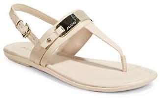 Aldo Nigolian Slingback T-Strap Sandals