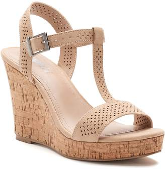 Charles by Charles David Style Style Link Women's T-Strap Wedge Sandals