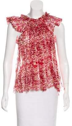 Etoile Isabel Marant Silk Metallic Top w/ Tags