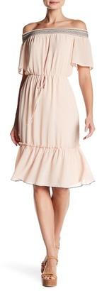Sequin Hearts Off-the-Shoulder Dress (Juniors) $49 thestylecure.com