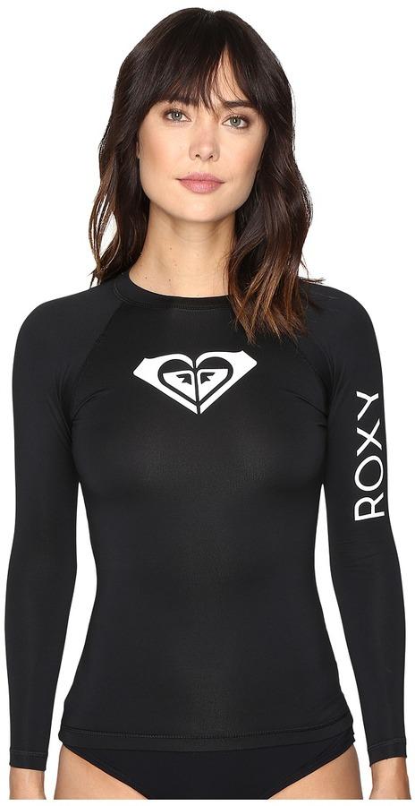 Roxy - Whole Hearted Long Sleeve Rashguard Women's Swimwear