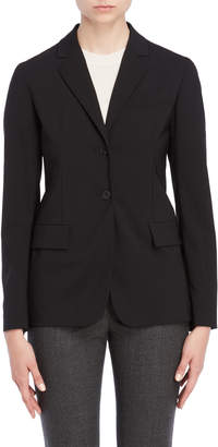 Jil Sander Fitted Two-Button Blazer