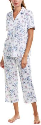 Carole Hochman 2Pc Pajama Top & Pant Set