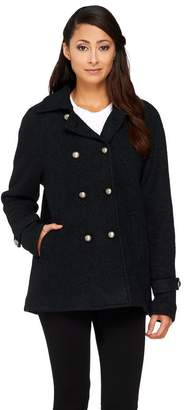 Linea By Louis Dell'olio by Louis Dell'Olio Button Front Swing Coat