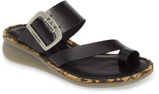 Fly London Cops Wedge Slide Sandal