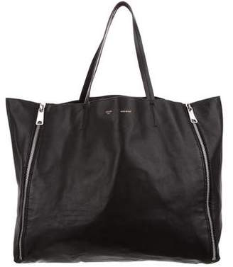 Celine Horizontal Gusset Cabas Tote