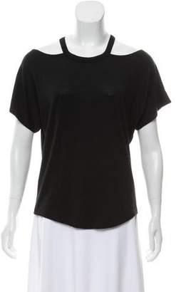 Rag & Bone Knit Cold-Shoulder Top