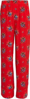 Ganni Kochhar Fiery Red Pants