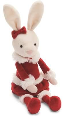 Jellycat Christmas Small Bitsy Bunny Stuffed Animal