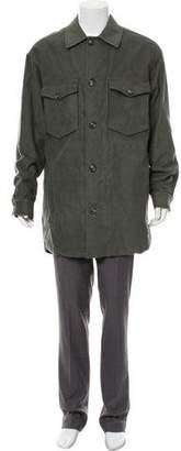 Maison Margiela Woven Button-Up Jacket