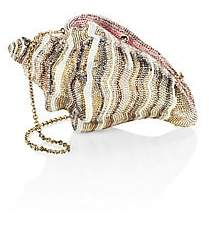 Judith Leiber Couture Women's Conch Shell Crystal Clutch