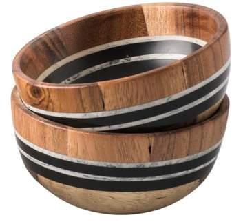 Stonewood Stripe Set of 2 Small Bowls