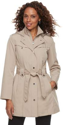 London Fog Tower By Women's TOWER by Hooded Rain Jacket