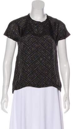 Louis Vuitton Short Sleeve Printed Top