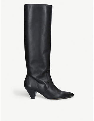 Carvela Whimsy leather knee boots