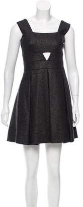 Robert Rodriguez Pleated Mini Dress