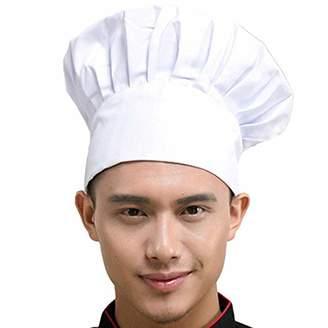 Hyzrz Chef Hat Adult Adjustable Elastic Baker Kitchen Cooking Chef Cap