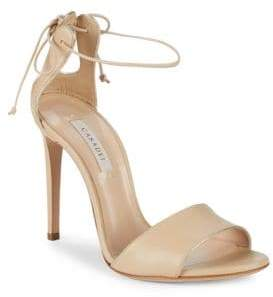 Casadei Duse Stiletto Heeled Leather Sandals