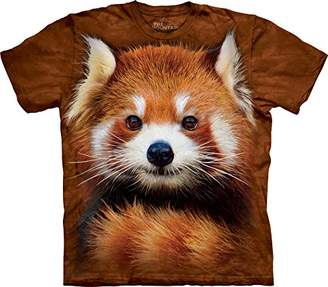The Mountain Men's Red Panda Portrait T-Shirt