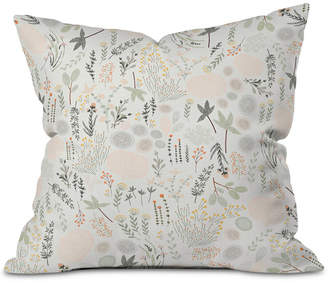 Deny Designs Floral Goodness Outdoor Throw Pillow