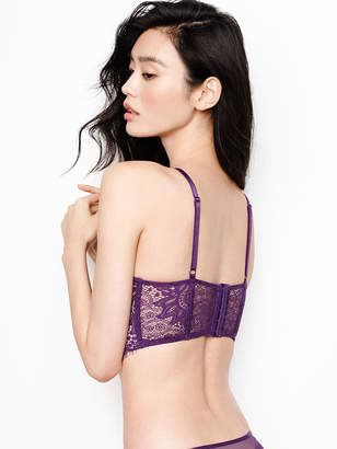 Very Sexy Lace Halter Long Line Bra