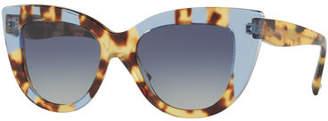 Valentino Acetate Cat-Eye Sunglasses