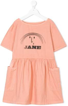 Bobo Choses Little Jane printed dress