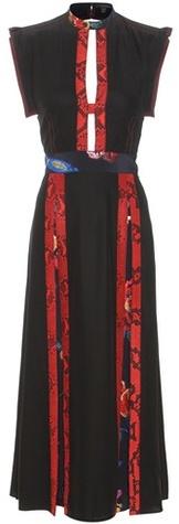 Burberry Burberry Printed Silk Dress