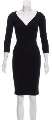 Stella McCartney Long Sleeve Bodycon Dress