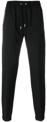 Givenchy drawstring waist track pants
