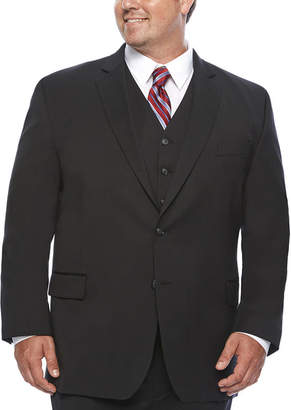 STAFFORD Stafford Travel Wool Blend Stretch Suit Jacket Big and Tall
