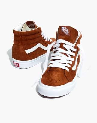 Madewell Vans Unisex SK8-Hi Reissue High-Top Sneakers in Brown Suede