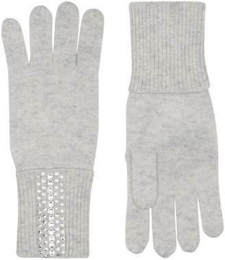 William Sharp Cashmere Crystal Embellished Gloves