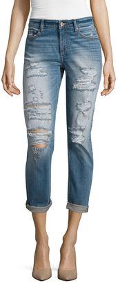 ARIZONA Arizona Destructed Boyfriend Jeans  - Juniors $56 thestylecure.com