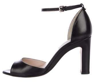 LK Bennett Leather Ankle Strap Sandals