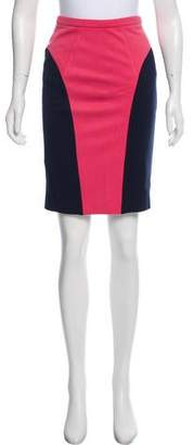 Jason Wu Colorblock Knee-Length Skirt