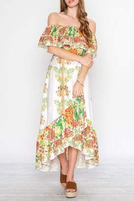 Flying Tomato Viva Las Flores Dress