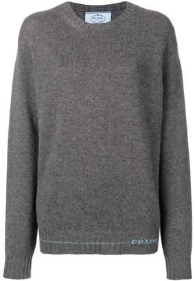 Prada slouchy sweater