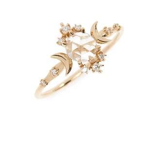 Sofia Zakia Wandering Star Rose Cut Diamond Ring