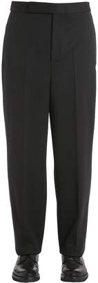 Neil Barrett 22cm Stretch Wool Blend Gabardine Pants