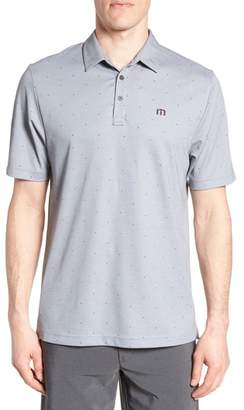 Travis Mathew 'JJ's Legacy' Trim Fit Polka Dot Polo