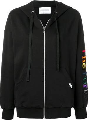Couture Forte Dei Marmi front zip hoodie