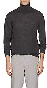 Tomas Maier MEN'S FINE-GAUGE WOOL TURTLENECK SWEATER - GRAY SIZE XXL