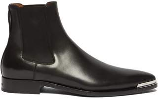 Givenchy Dallas Leather Chelsea Boots - Mens - Black