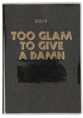 Next Womens Paperchase A5 Glam Glitter Diary