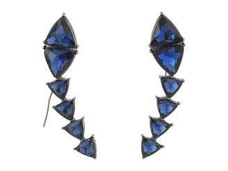 Steve Madden Triangle Threader Earrings Earring
