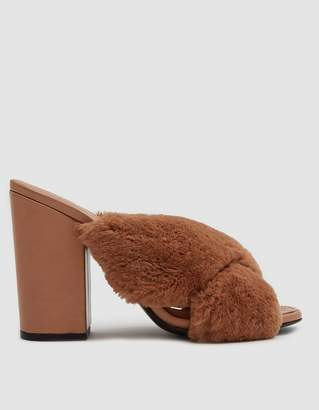 Alumnae Soft X-Slide Block Heel Sandal