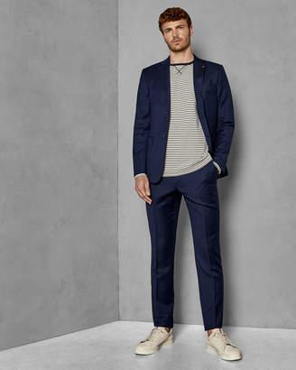 Ted Baker OVRACTT Endurance birdseye wool Performance suit trousers