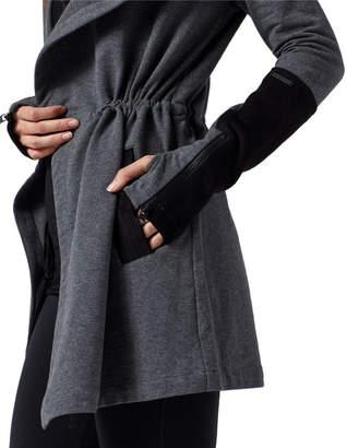 Blanc Noir Traveler Hooded Velour Jacket