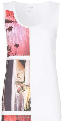 fd3aaa01 Calvin Klein Jeans Est. 1978 Sleeveless graphic print T-shirt